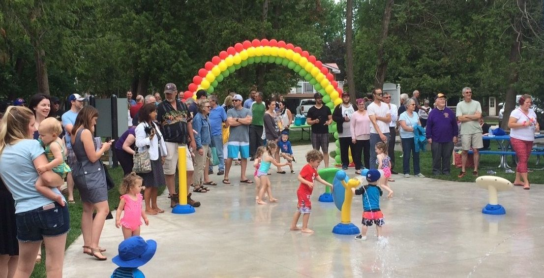 Area residents excited about opening of splashpad