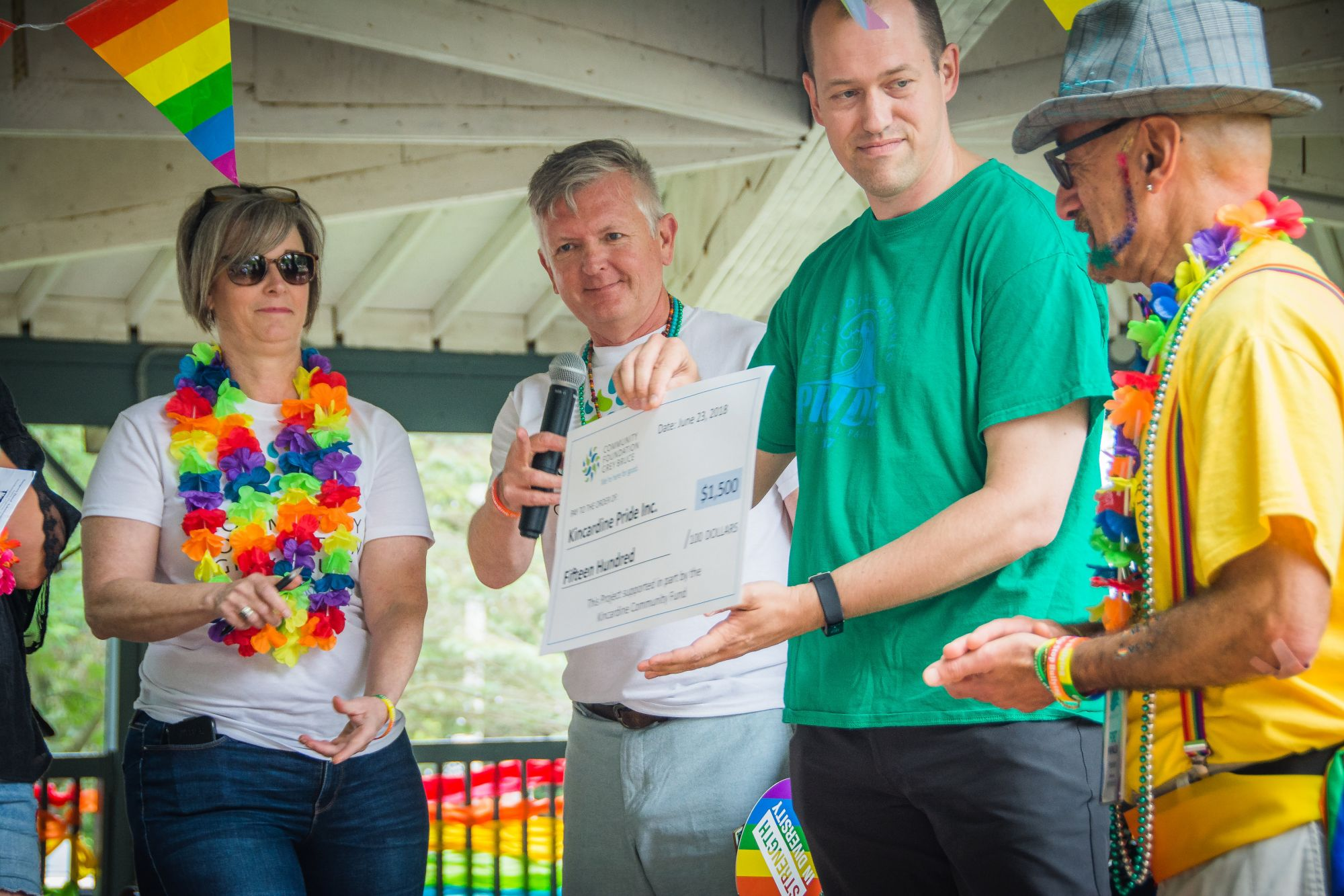Foundation grant supports Kincardine Pride Parade